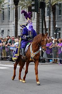 Mardi Gras 2018 Krewe of Rex New Orleans, Louisiana