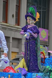 Mardi Gras 2018 Krewe of Mid City New Orleans, Louisiana