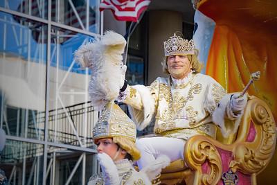 Rex Parade Mardi Gras 2016