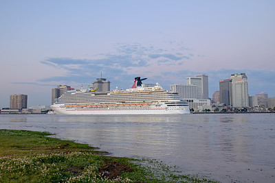 Carnival Dream returning in the Morning to New Orleans