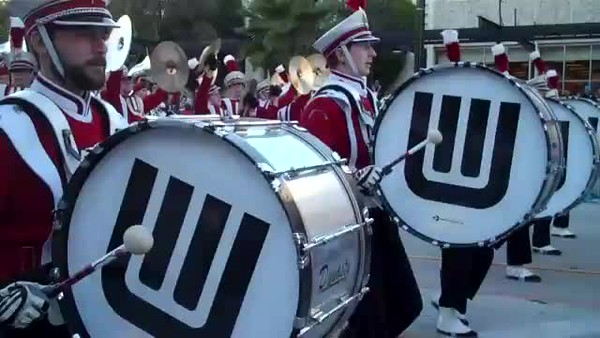 Video Clips of Rose Parade by FA Janice Stone