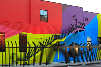 Colorful Building ~ Minneapolis