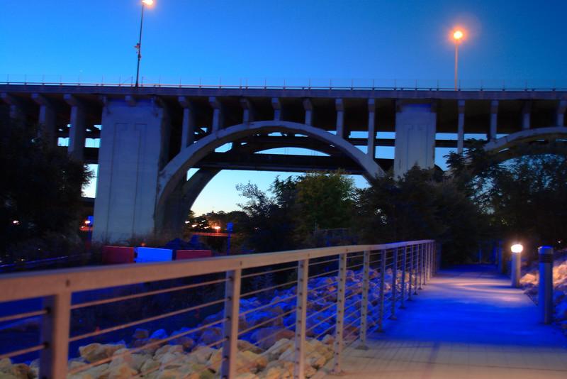 Bridge at dawn ~ Minneapolis