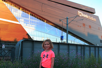 Me at US Bank Stadium ~ Minneapolis
