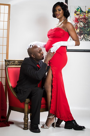 Sash & Dean Maternity Edit