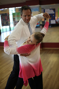 Two local townspeople, Tina Cunningham and Robert Maitland (lawyer), are competing in the upcoming Dancing with the Stars of the Carolinas to raise money for the Boys and Girls club of Chapel Hill.  Tina - purple shirt Robert - white shirt