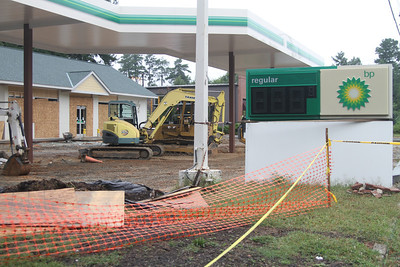 Reconstruction of the Family Fare BP on Martin Luther King Jr. Blvd.