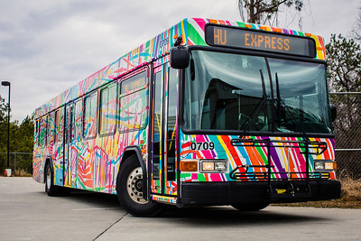 Bus Art Wrap