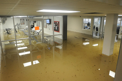 The basement of Granville Towers flooded after water broke through an exterior window. Heavy rains in Chapel Hill on June 30 caused flash flooding. Several trees were downed in the area.