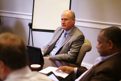 Members of UNC faculty, including Executive Vice Chancellor and Provost Jim Dean, met on Tuesday to discuss academics of student athletes.
