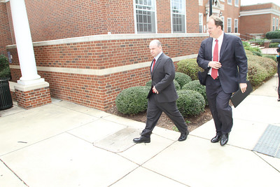 Terry Watson, a sports agent, was indicted in relation to the UNC football scandal Wednesday, Oct. 9 at the Orange County Courthouse in Hillsborough, N.C.