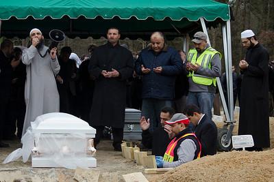 Funeral for Deah, Yosur. Razan