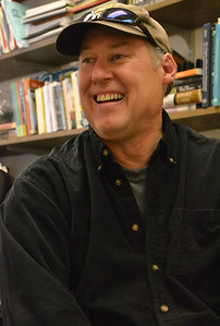 American Novelist, Stewart O'Nan, serves as the 2014 Distinguished Writer-in-Residence. Notable pieces include Snow Angels, Last Night at the Lobster, and Faithful: Two Diehard Boston Red Sox Fans Chronicle the Historic 2004 Season (with Stephen King).