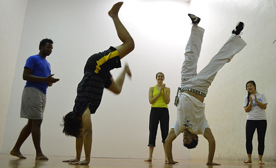 The Carolina Capoeira Club provides a unique opportunity for those wanting to expand their understanding on certain parts of the Brazilian culture to apply their knowledge of the language through the martial art of Capoeira.