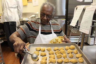 Mama Dip makes sweet potato biscuits. Mildred Council, aka Mama Dip, has received the Harvard Club's Roland Giduz award for community service. Council worked as a cook and housekeeper in the Giduz household.