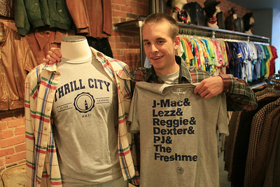 Ryan Cocca, a photojournalism major at UNC, founded the clothing brand, Thrill City.