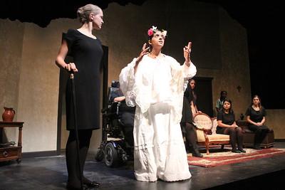 La Casa de Bernada Alba is LAB! Theater's newest production. The play has scenes  in both English and Spanish. BERNARDA:              Duri Long PONCIA:                     Carol Ardiles?  PONCIA:                     Carol Ardiles ANGUSTIAS:             Meredith Kimple AMELIA:                     Laura John ADELA:                       Cristina Berriz MARTIRIO:                Elizabeth Soffer MAGDALENA:          Alexandra Ruba PRUDENCIA:            Karina Hernandez