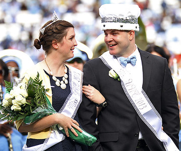 Photos from UNC football's 45-14 defeat of UVA on Nov. 9, 2013 at Kenan Stadium in Chapel Hill, N.C.