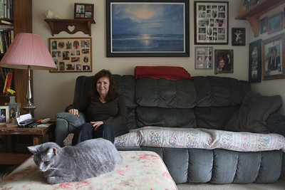 "Dawn Lancaster has been living in an apartment in Chapel Hill for 6 years, but she will have to move next summer because the complex will no longer accept her section 8 housing vouchers. She said, ""I don't like to move, but now I have to move. I thought I'd get to stay here, you know. It was a shock when they sent me the papers."""