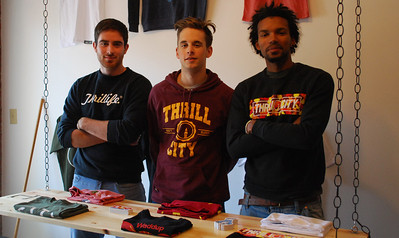 Some UNC students are opening a store for Thrill City, their brand that they have started. They'll sell their apparel and feature other brands in the area.