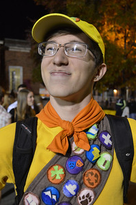 Students flooded Franklin Street Halloween night decked out in their most creative costumes.  Every year the street is closed down so that UNC students and Chapel Hill residents can enjoy the night without fear of traffic.