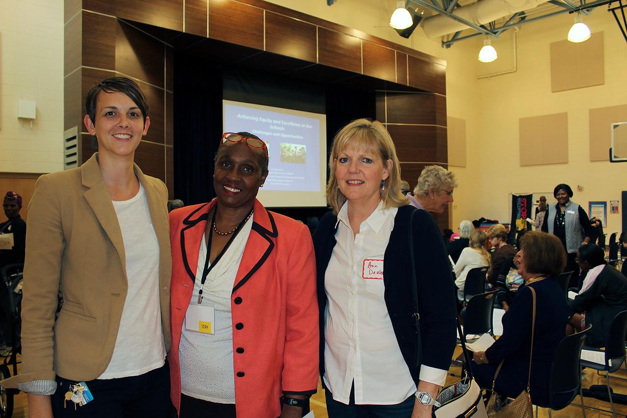 Left to Right: Monica Bintz Theresa Watson Ann Daaleman
