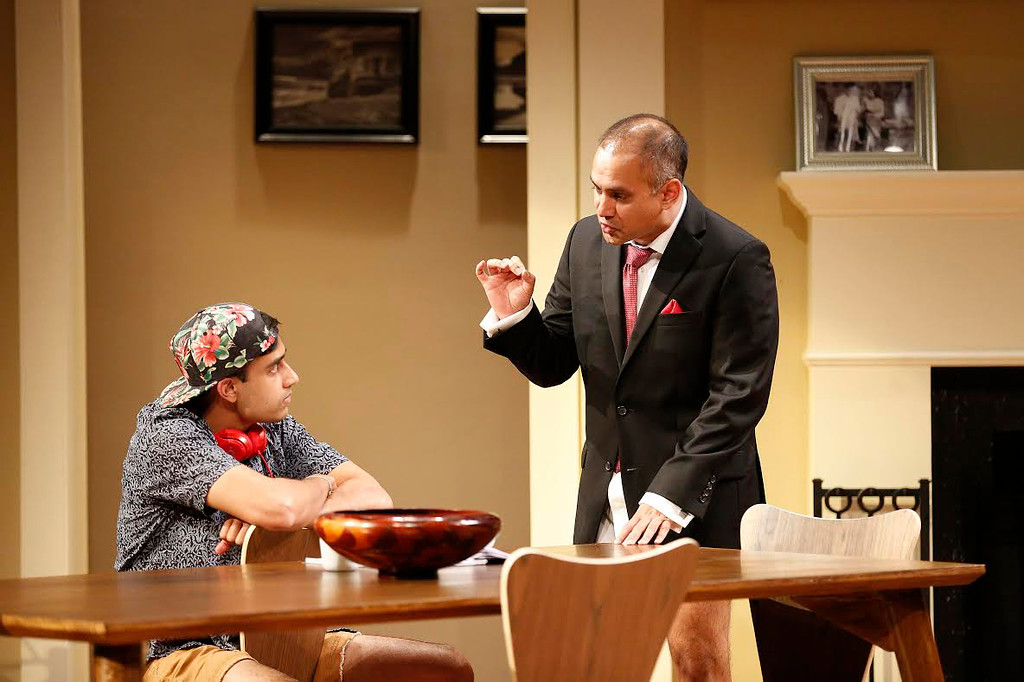 PlayMakers Repertory Company production of Disgraced.  (Photo by Jon Gardiner)