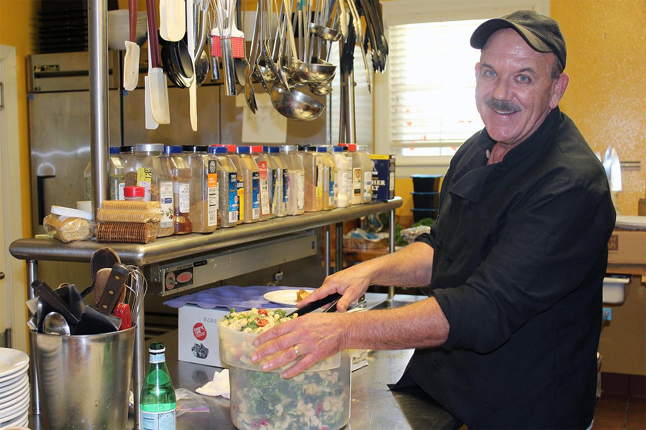 Mark Jones, chef for Phi Mu Sorority