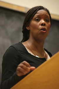 Star Parker, founder and president of non-profit organization the Center for Urban Renewal and Education, speaks about overcoming the failures of the welfare state at 7 p.m.  Monday September 24, 2012 in Room 106 of Howell Hall. The event is hosted by the Young America's Foundation.