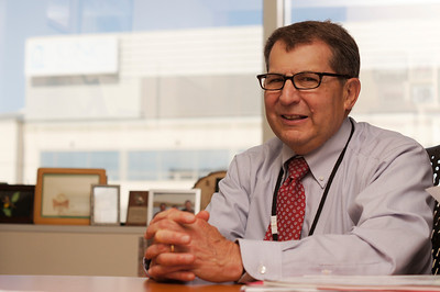 Dr. Hyman B. Muss, M.D. was award the Susan G. Komen for the Cure Brinker Award for Scientific Distinction in Clinical Research for his contributions to the treatment of breast cancer.