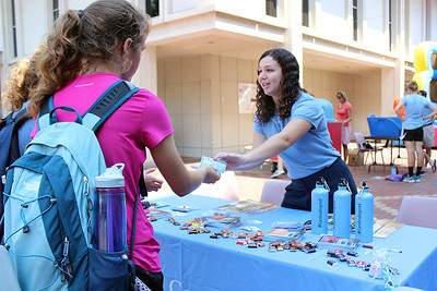 Students went to the UCS Carnival in order to get more information on upcoming career fairs