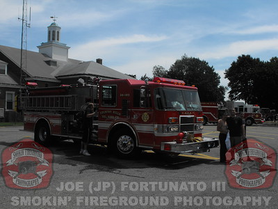 New MIlford Wetdown for Engine 34 08-08-2009