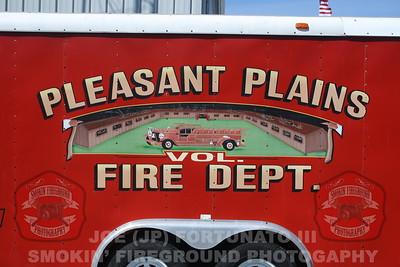 Visit to Pleasant Plains Fire Dept. (Dover Twp.) 03-26-2011