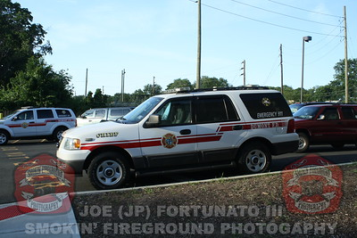 Welcoming and Housing of Engine 4 in Dumont, NJ 06-03-2011