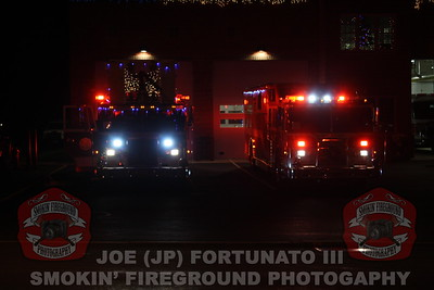 Orangeburg Fire Dept. Holiday Parade 12-15-2012