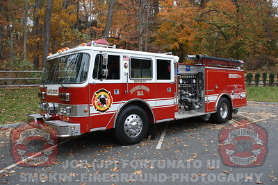 Rockleigh Engine 862 Photo shoot 10-28-2012