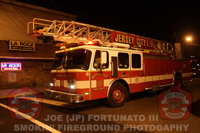 Union City 8th Alarm Fire Bergenline Ave 01-19-2012