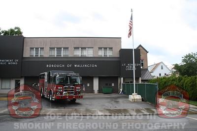 Wallington Fire Department Engine 3 Wetdown 06-09-2012
