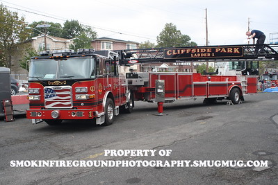 Cliffside Park FD  Photoshoot 10-13-2013 Photos by M Shaffer