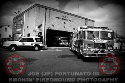 Photo Shoot of the Saddle Brook Fire Department