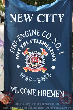 Rockland County Firefighters Parade, New City, NY 09-07-2013