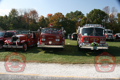 Sussex County Firefighter Parade in Franklin, NJ 10-05-2013