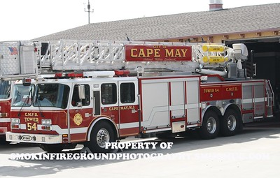 Cape May Fire Dept Apparatus shoot 9-14-14