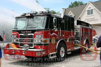 Park Ridge Engine 4 Wetdown 06-21-2014