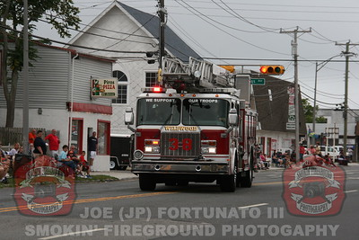 The 2014 New Jersey Firefighters Convention Parade 09-13-2014