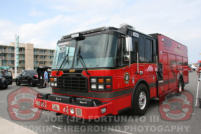 The New Jersey FIrefighers Convention Apparatus DIsplay 09-11-2014