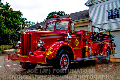 Fairview, NJ 1945 Mack Pumper-Owned by Tim Moots 07-23-2015
