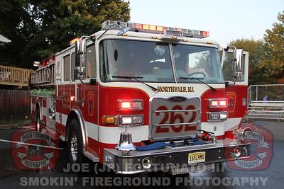 Northvale Engine 262 Wetdown 08-29-2015
