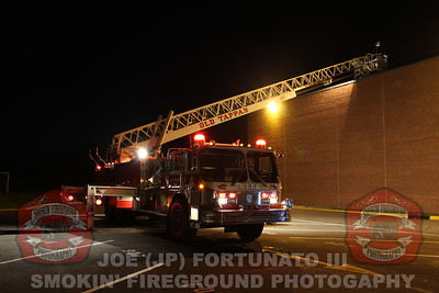 Roof Fire Simulation @ NVOT 10-19-2015