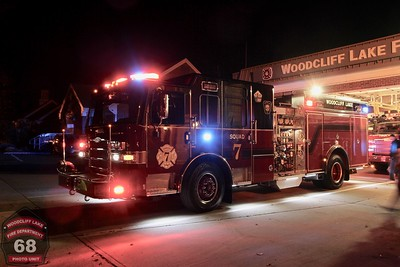 Woodcliff Lake Squad 7 Delivery 11-02-2016